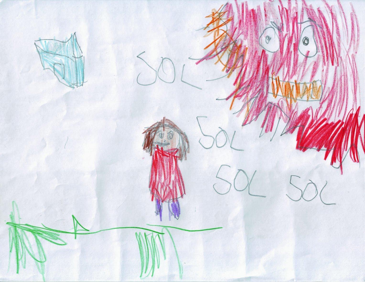 ¿Cómo se expresa un niño maltratado, a través de los dibujos?